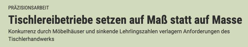 """Artikel im """"Der Standard"""""""